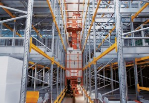 Stacker Cranes for Pallets | ERG